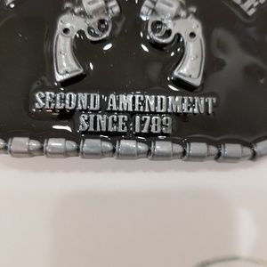Accessories - 2nd Amendment Belt Buckle